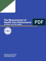 Measurement of Healthcare Perf