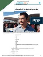 Van 66 Casos de Tuberculosis en Mexicali en El Año