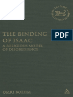 Boehm, Omri - The Binding of Isaac. a Religious Model of Disobedience