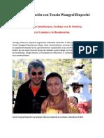 Entrevista Tenzin Wangyal Rinpoche