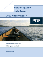 BWQSG - 2015 Report of Activities