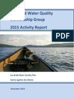 BWQSG - 2015 Report of Activities