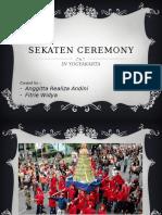 Sekaten Ceremony