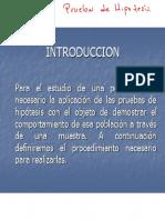 Estadistica  INFERENCIAL Unidad 3