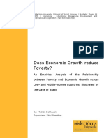 Does Economic Growth Reduce Poverty ?