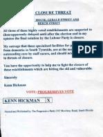 Ken Hickman small document