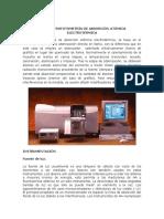 La Espectrofotometria de Absorcion Atomica Electrotermica (1)