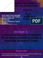 UNIDAD II Ing. Economica