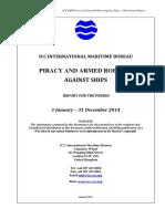 2014 Annual IMB Piracy Report ABRIDGED