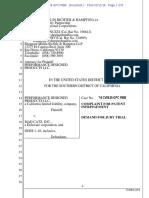 PDP v. Mad Catz - Complaint