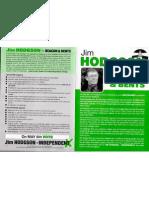 Jim Hodgson election leaflet pt 1.