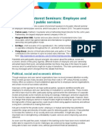 Employee and User Owned Public Services Seminar Summary