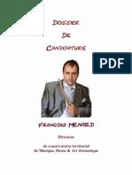 Dossier François Ménard
