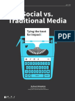 FTI Social vs Traditional Media
