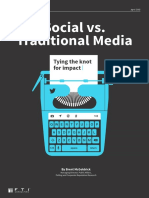 FTI Social vs Traditional Media