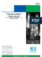 Pakistan Fertilizer Sector Review