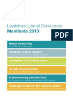 Lewisham Lib Dem Manifesto