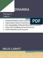 Termodinamika Siklus Carnot dan Rankine
