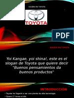 kaizen en Toyota