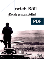 Heinrich Böll-Dónde Estabas, Adán