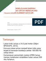 Materi Direktur Jenderal Pengendalian Daerah Aliran Sungai Dan Hutan Lindung