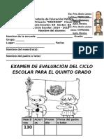ExamenQuintoEscoltaME del quinto bimestre 2015.docx