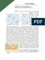 Farmacodinamia II