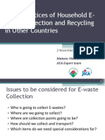 3. Good Practices of Household E Waste Collection and Recycling in Other Countries Yamashita San