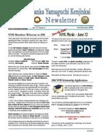 NYK Newsletter 3/2016                      Publisher