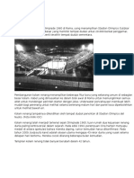 Sejarah Kolam Renang Olympic