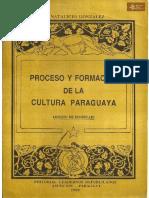 Proceso y Formación de la Cultura Paraguaya de Natalicio González