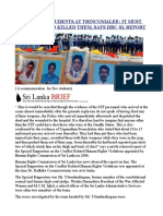 Killing of 5 Students at Trincomalee It Must Be the Stf Who Killed Them, Says Hrc-sl Report
