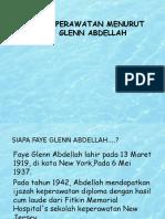 Teori Keperawatan Menurut Faye Glenn Abdellah o3