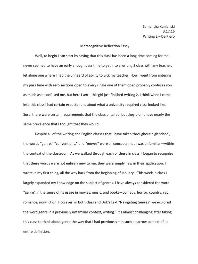 my expectation to my teacher essay