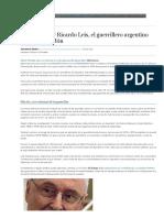 Muere Héctor Ricardo Leis, El Guerrillero Argentino Que Pidió Perdón _ Argentina _ EL MUNDO