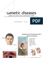 Optimized Genetic Diseases - Ch 4 BRS Path