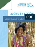 Igualdad de Genero ONU