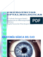 Emergencias Oftalmologicas