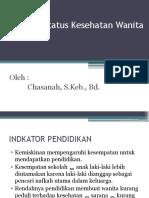 Indikator Status Kesehatan Wanita