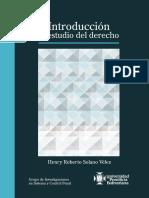 Introducción al estudio del derecho - Henry Solano Vélez
