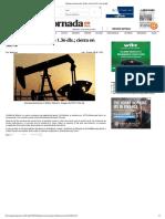 Petróleo Mexicano Sube 1.36 Dls.; Cierra en 30