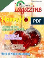 Main Street Kelowna Magazine Premiere Issue
