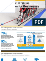 Value Proposition for Business S4 HANA
