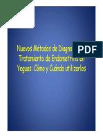 Nuevos Metodos de diagnostico y tratamiento en endometritis en yeguasagnostico y Tratamiento