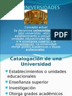 Las Universidades