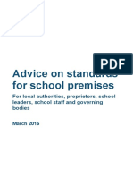 Advice on Standards for School Premises