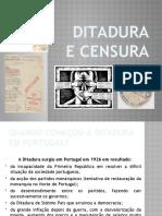 Ditadura e censura