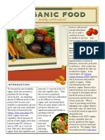Organic Food Fact Sheet