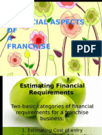 financialaspectsofafranchise-100826120347-phpapp01