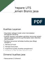 Prepare UTS Manajemen Bisnis Jasa